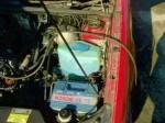 подсоединение аэратора к главному тормозному цилиндру и колесу